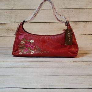 Guess Rosarita Red Vintage Purse